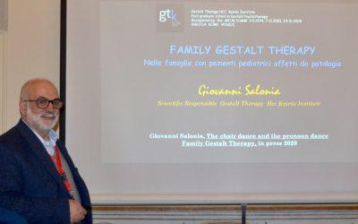 L'Istituto GTK al Congresso internazionale di Psicologia Pediatrica. L'intervento di Giovanni Salonia