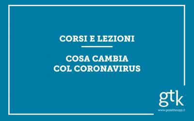 Corsi e lezioni: cosa cambia col Coronavirus